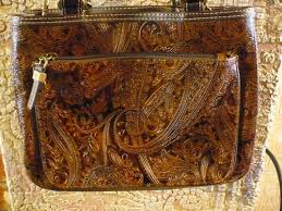 brown relic purses